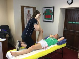 Hartnett Physical Therapy Hamstring stretch