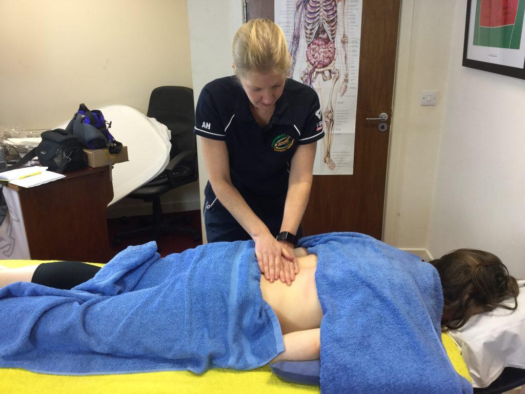 Hartnett Physical Therapy back massage